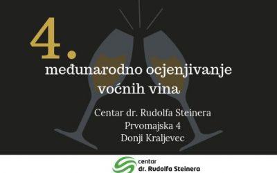 Rezultati 4. međunarodnog ocjenjivanja voćnih vina