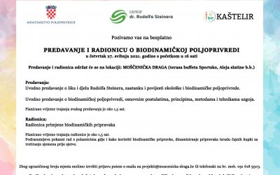 Najava predavanja i radionice u Mošćenićkoj dragi – 27.5.2021.